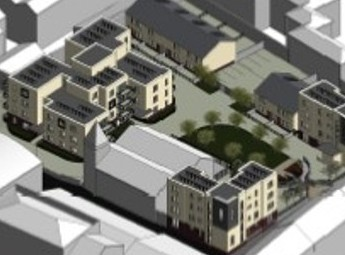 Rutland Square - Social Housing