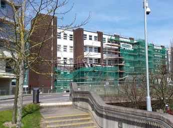 Re-Cladding of Hospital Façade at CUH