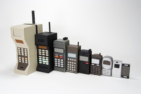 Mobile phones were introduced.