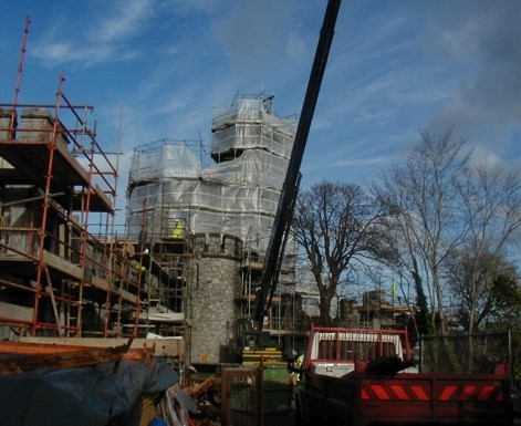 Renovation of Blackrock Castle